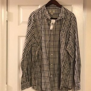 Men's Timberland black/white/gray dress shirt